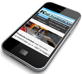 KHP Website on Smartphone